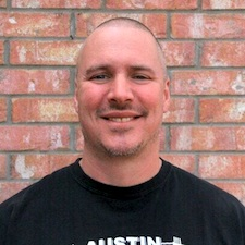 Personal trainer Andy Bruchey in Austin TX.