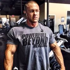 Personal trainer Chris Greene in Copperas Cove, TX.
