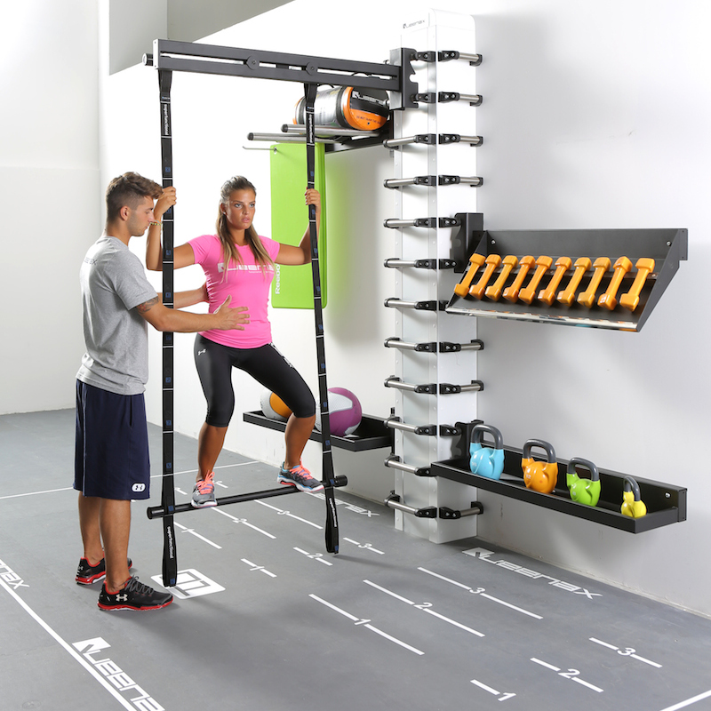Elegant The One Plus Personal Trainer Station And Equipment Accessories Storage.