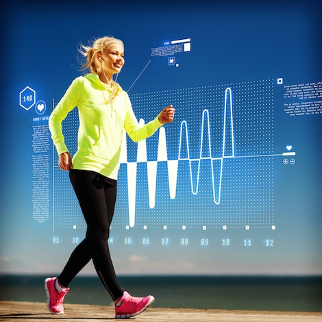 Rockport walking fitness VO2 max test.