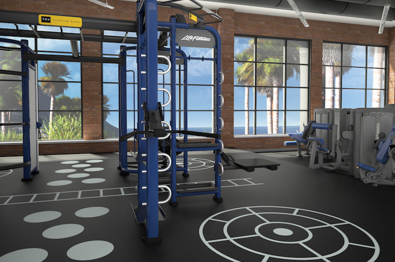 Learn how to design functional training experiences by converting a racquetball court into revenue generating fitness programming with Active Design Systems video.