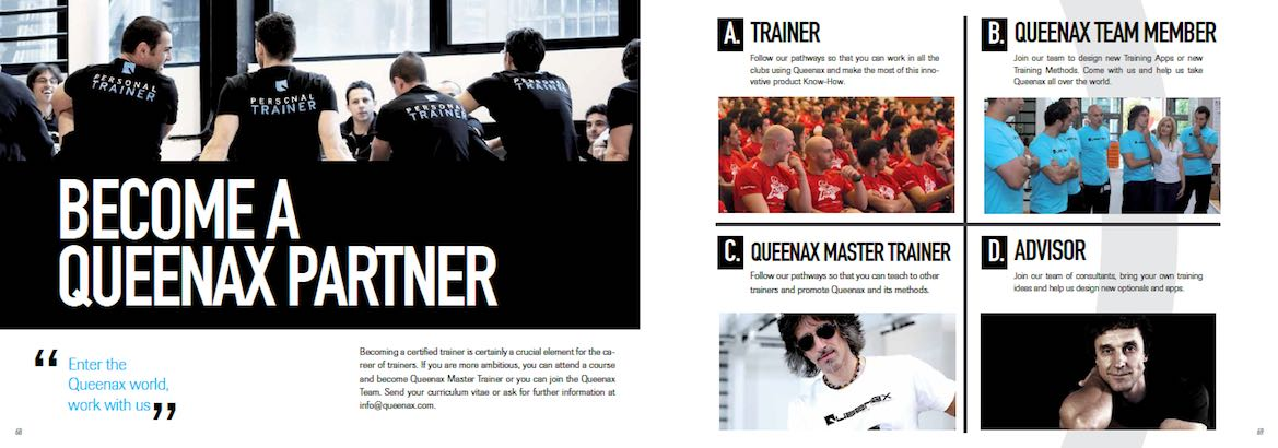 Become a Queenax trainer, team member, master trainer, or advisor.