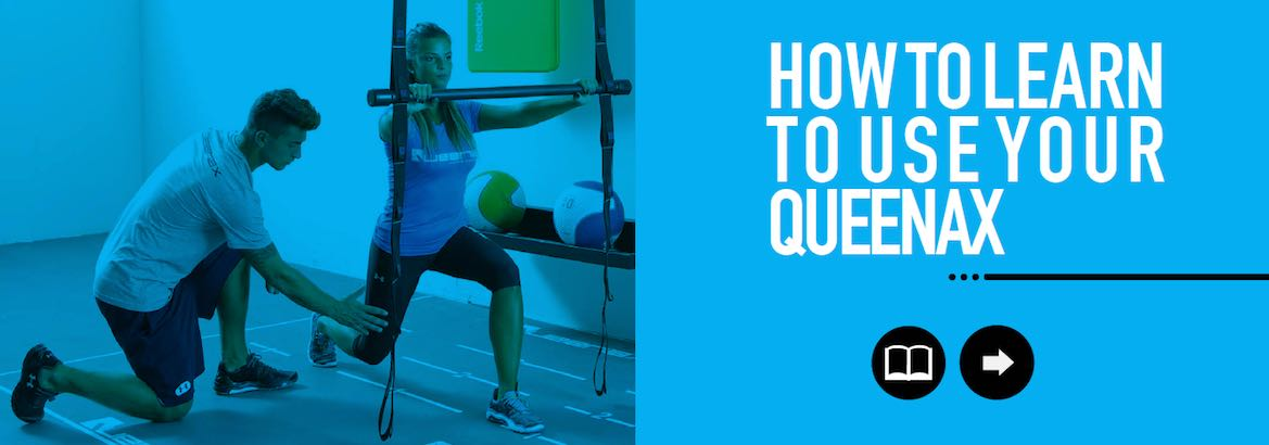 Queenax provides in-depth education and training on all Queenax modular frame exercise and training systems.
