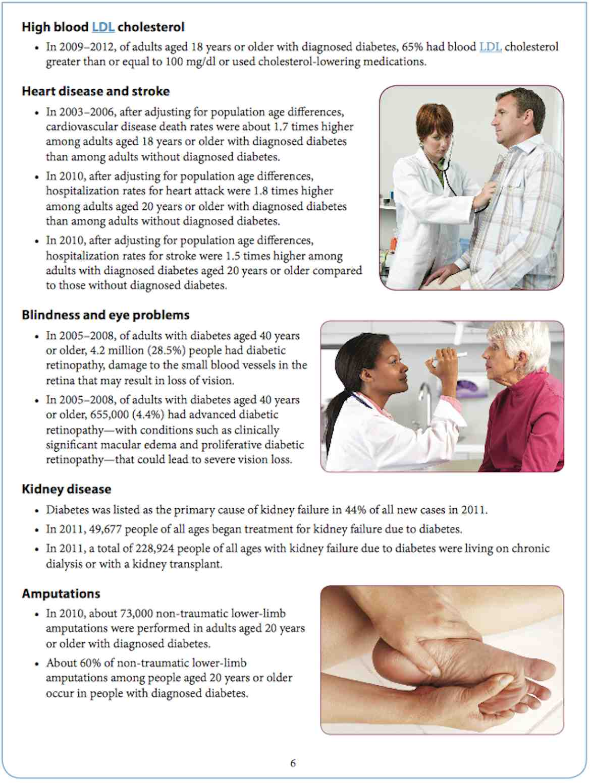 Co-existing Conditions and Complications of Diabetes