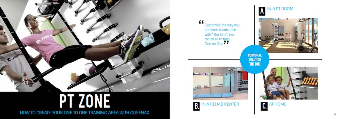 How to create your one-to-one personal training or PT area with Queenax?
