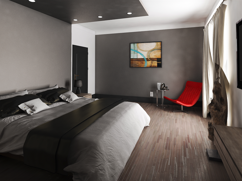 3D rendering image for a business property.