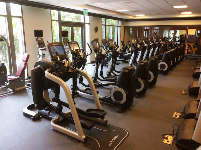 The Four Seasons Hotel and Resort Santa Barbara, California Fitness Center