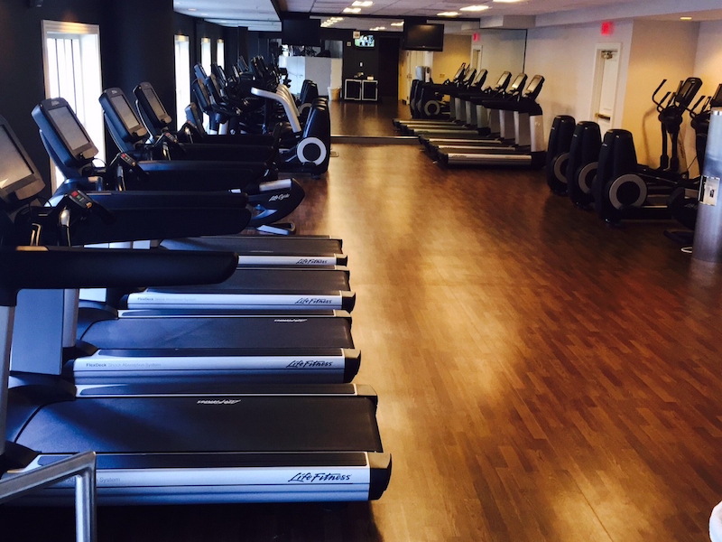 Renaissance Grand Marriott Hotel Fitness Center