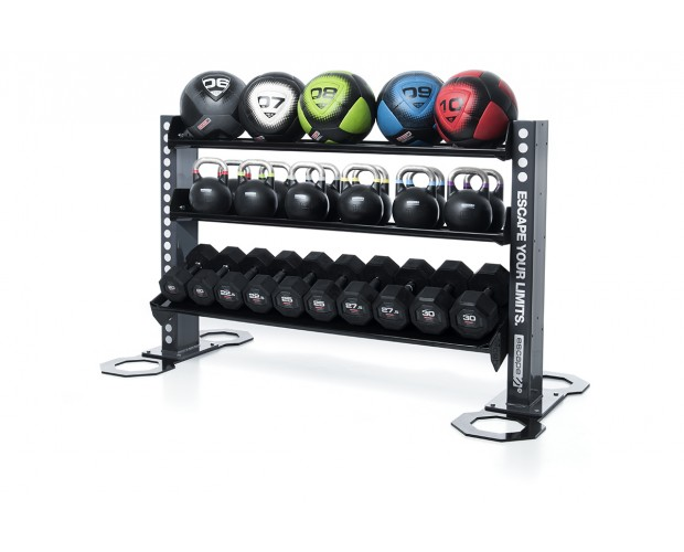 commercial kettle bell storage rack