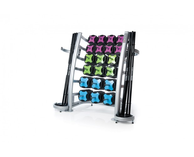 group fitness equipment storage solution
