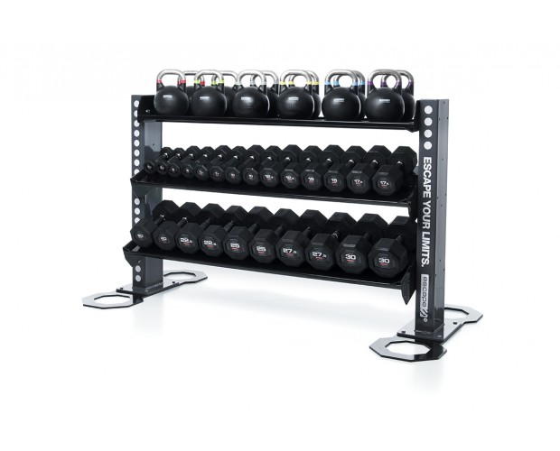 gym weight storage solution