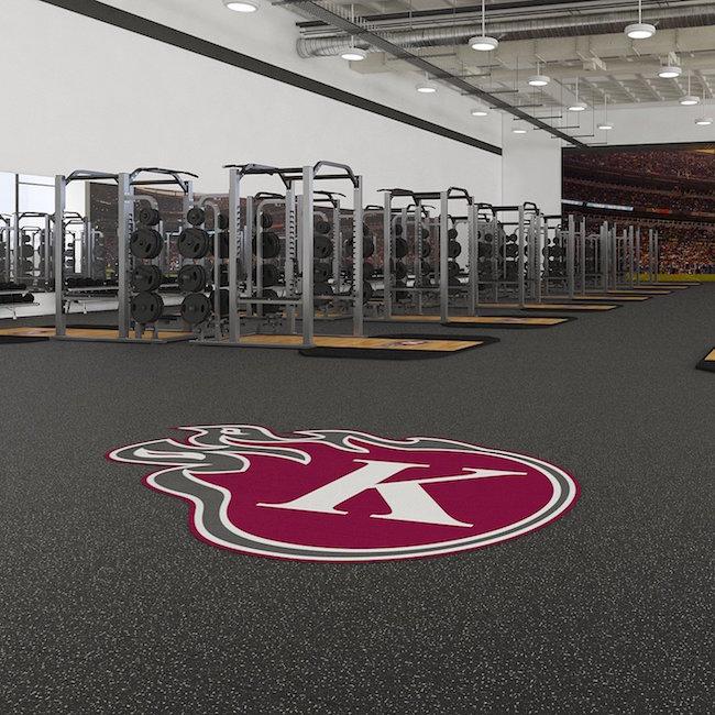 Logos u203a custom weightlifting platform and sports flooring logos!