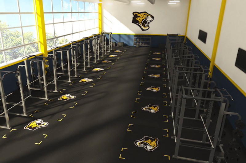 Made in the USA, the Original Team Logo Guys Logos and American Weightlifting Platforms are known as leaders in Athletics Branding and Custom Weightlifting Platforms.