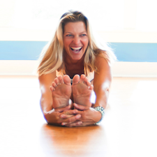 Jessica Bellofatto yoga SUP East Hampton Village, NY