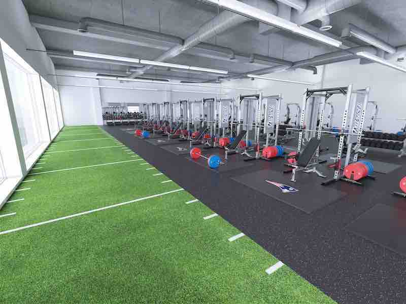 fitness facility, gym and weight room design.
