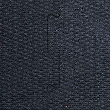 black interlocking tile rubber flooring sample