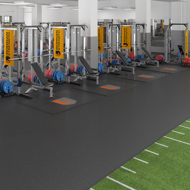 Weightlifting Platforms for Ironman Strength Weight Room<br />