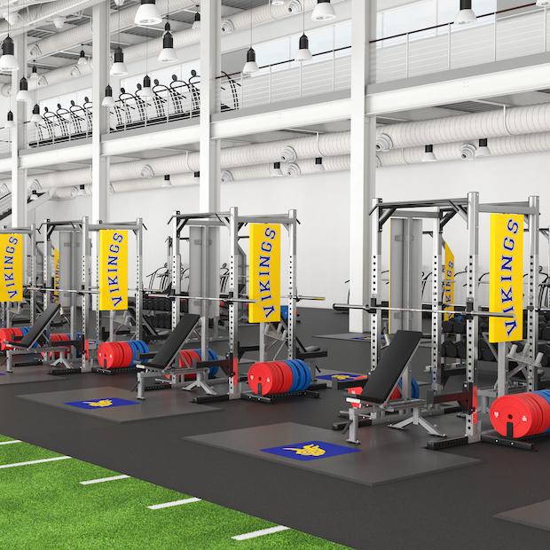 Vikings Weightlifting Platforms